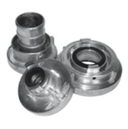 Kupplungen und Armaturen für Bauschläuche aus Leichtmetall