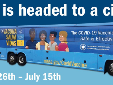 The VaxBus is coming to Taunton!