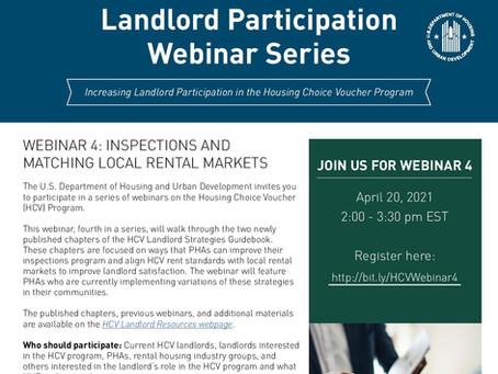 Landlord Webinar Series