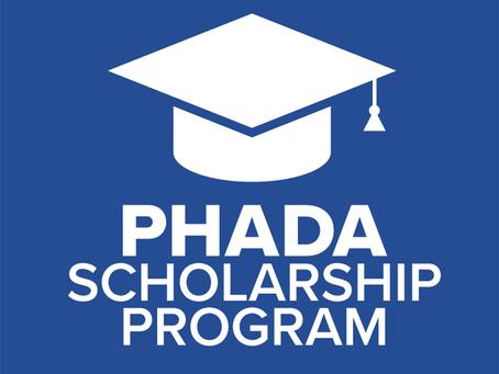 PHADA Scholarship 2021