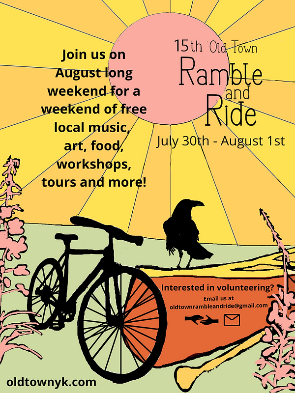 Join us on August long weekend for a weekend of free local music, art, food, workshops, to
