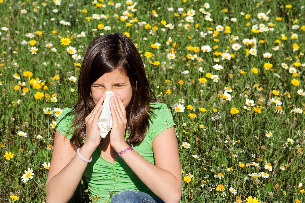 Child With Hayfever Allergy Blowing Nose.jpg