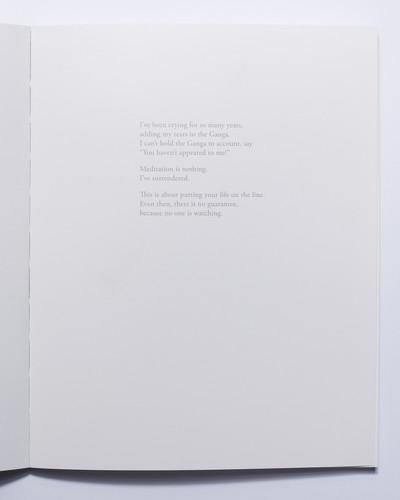 Spread from 'Seeking Moksha' by Nishant Shukla