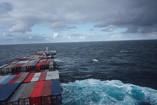 Allan Sekula, 'Conclusion of search for the disabled and drifting sailboat Happy Ending.'