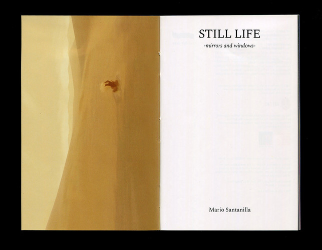 Photobook 'Still Life - Mirrors & Windows-' by Mario Santanelli