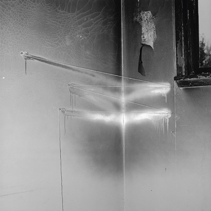 John Divola, Photograph from The Vandalism Portfolio 1974–75, printed 1993. Courtesy the artist and Gallery Luisotti.