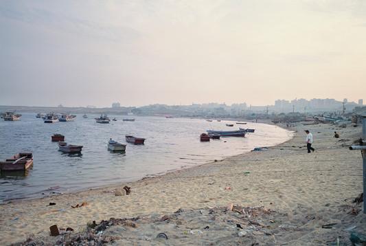 Allan Sekula, 'Doomed fishing village of Ilsan.'