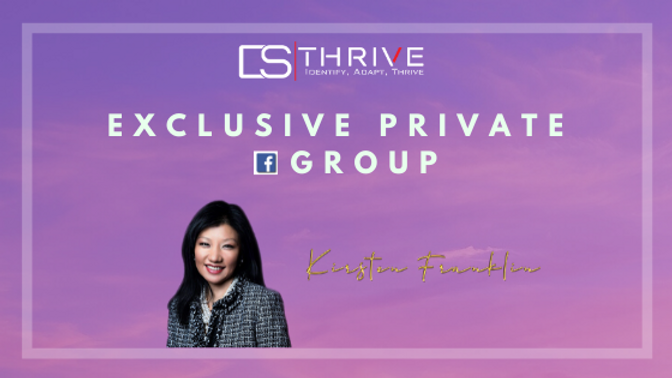 exclusive private fb group landing page