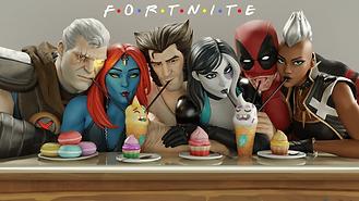 Dr,SFM - Marvel x Fortnite - Friends Par