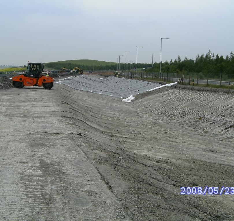 Highfield Spring drainage channel