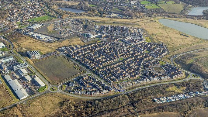 Waverley Aerial Photograph