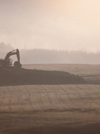 Preparing land for development