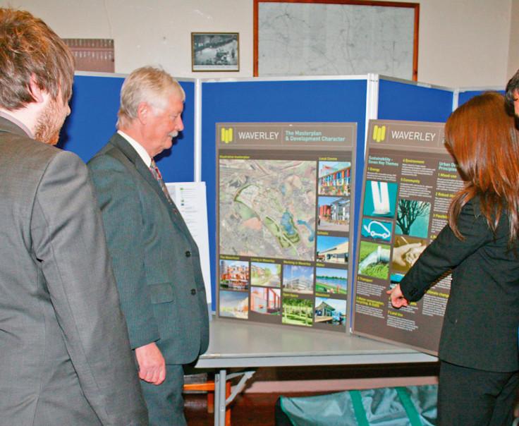 Public consultation on the Waverley masterplan in 2008