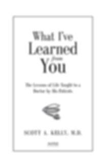 What I've Learned from You title page