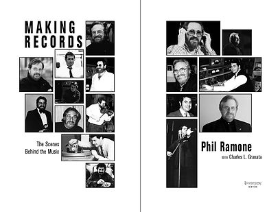 Making Records —title page design