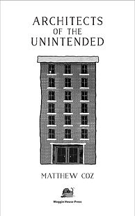 Architects of the Unintended —title page design