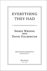 Everything They Had —title page design