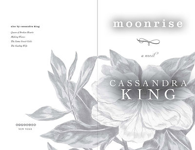 Moonrise —title page design
