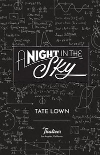 A Night in the Sky —title page design