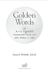 Golden Words —title page design
