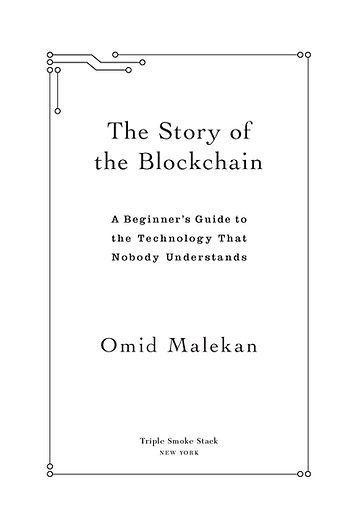 The Story of the Blockchain title page