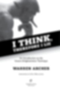 I Think, Therefore I Lie title page