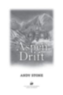 Aspen Drift book design by Karen Minster