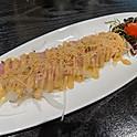Carpaccio with Spicy miso & yuzu citrus sauce