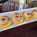 Carpaccio with Yuzu citrus sauce & Olive oil