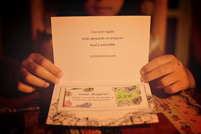 Cheques regalo. Un regalo solidario