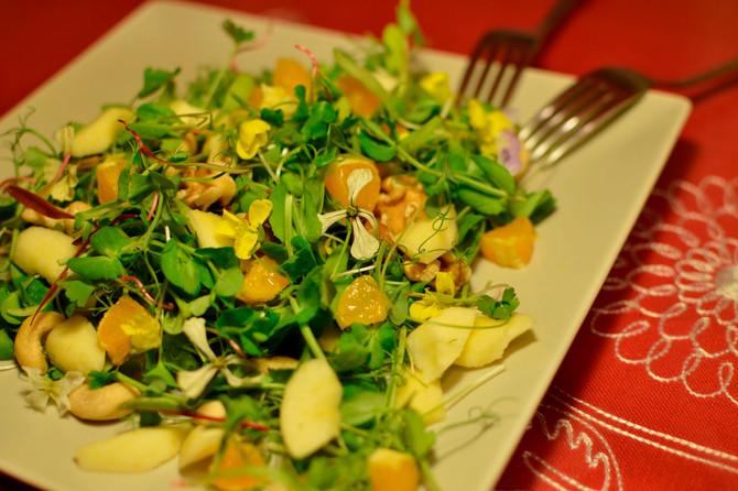 Os recomendamos una cena sana,  exquisita y rápida, por 2,20€ por persona.
