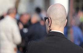 Robust Security Guard With The Headset A