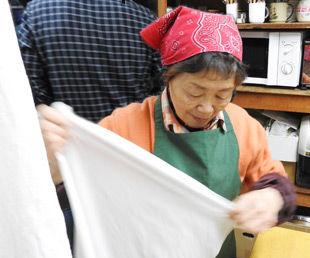 布巾は毎回煮洗いしています
