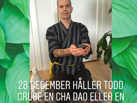 Cha Dao och Yin Yang Yoga  28 december