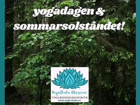 Fira med yoga!