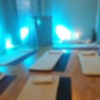 Stora yogasalen