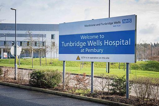 Tunbridge Wells Hospital Taxis.