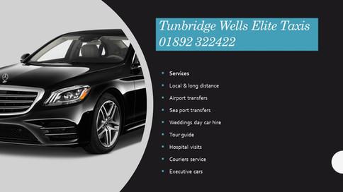 Tunbridge Wells taxis service