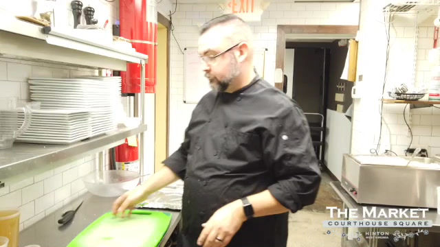 Chef Kevin makes butternut squash soup