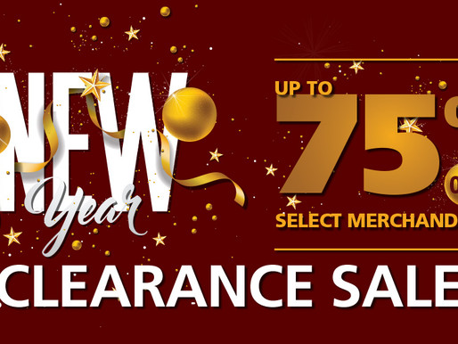 New Year's Clearance Sales Event