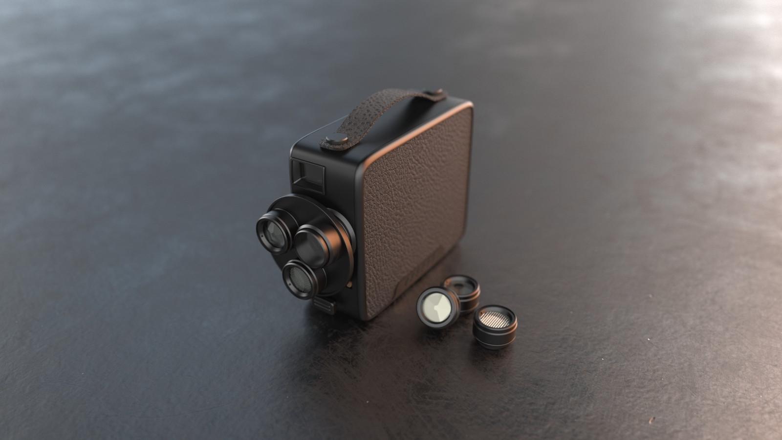 Brand New Fragment 8 Retro Camera
