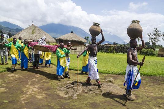 Tribal ritual of the Batwa Tribe - Iby'iwacu Cultural Village