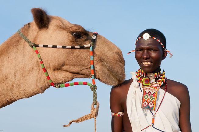 Samburu & Camel