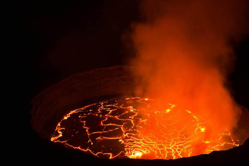 Nyiragongo Lava Lake