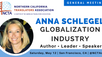NCTA GENERAL MEETING – FEATURED SPEAKER: ANNA SCHLEGEL