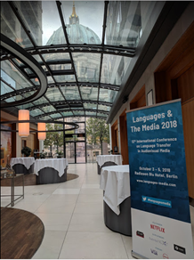 My first Languages & The Media Conference Experience – The Fourth Industrial Revolution reshapin