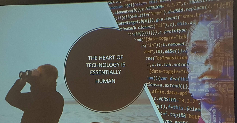 The heart of technology is essentially human