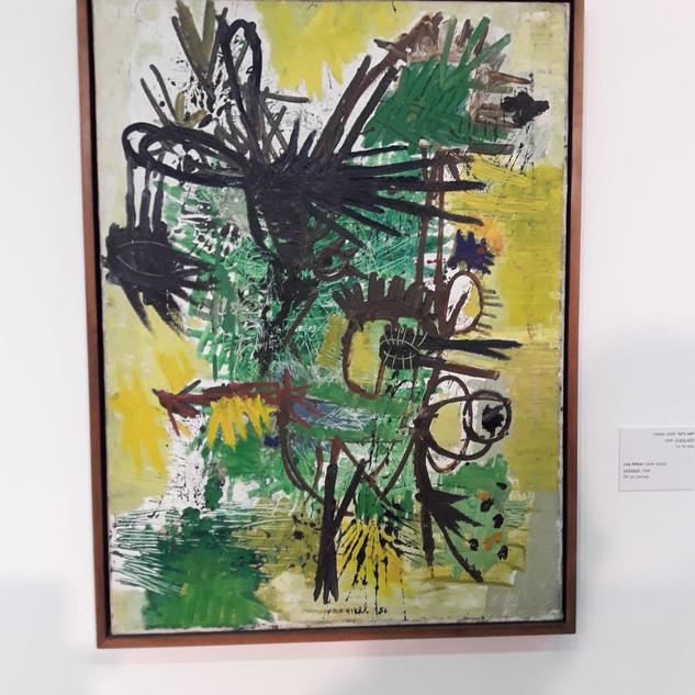 1956לאה ניקל אוסף מקוב תערוכה מוזיאון אש