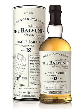 THE BALVENIE SINGLE BARREL 12YO
