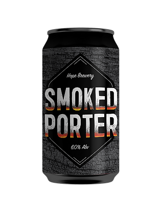 HOPE BREWING SMOKED PORTER 4 PACK